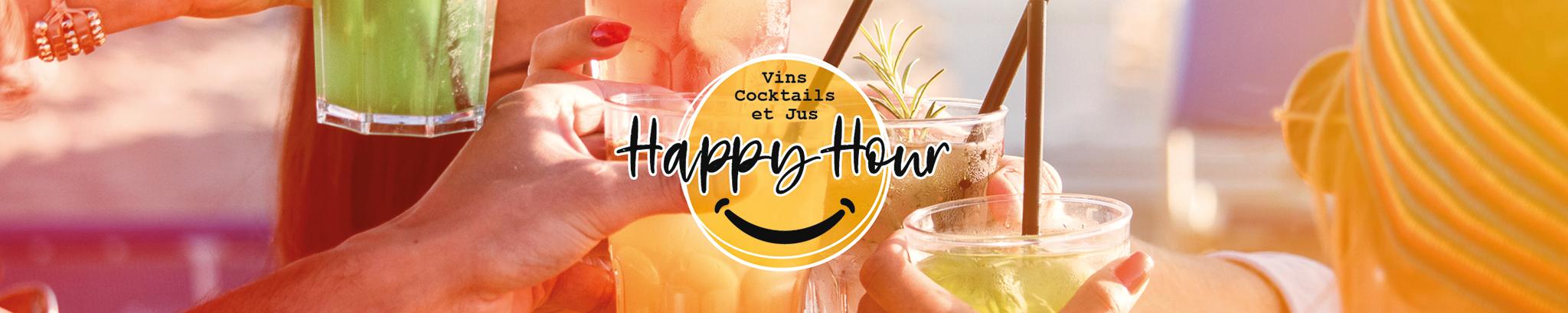 Happy Hour : Cocktails et Jus