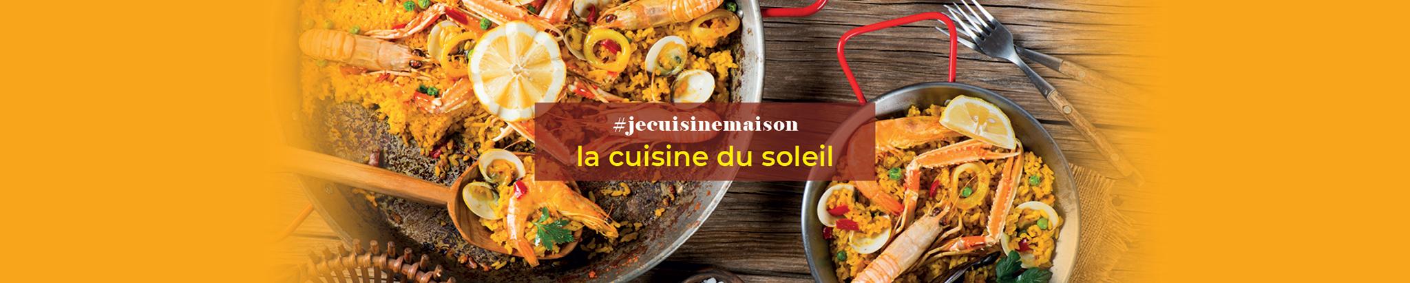 #jecuisinemaison : la Cuisine du Soleil